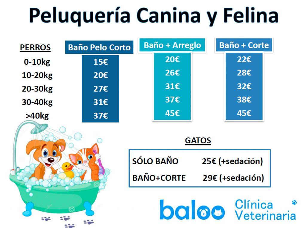 Peluquería Canina y Felina Veterinaria Baloo Camas